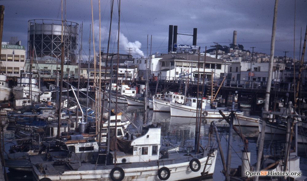 Fishermans Wharf Images Opensf History Images Western