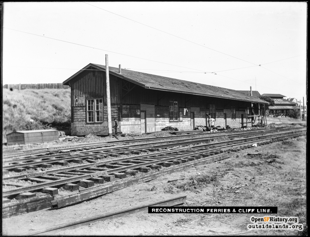 Sutro Heights Depot: A Closer Look