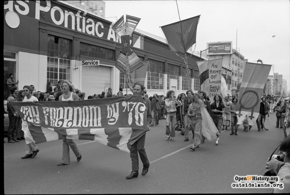 The Early Years of SF Pride:  A Closer Look