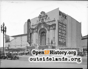 Fox Theater,Jul 1929