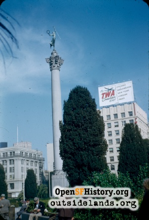 Union Square,Oct 1953