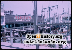 Fisherman's Wharf,Jul 1956