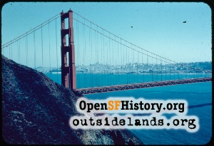 Golden Gate Bridge,Jul 1956
