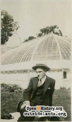 Conservatory of Flowers,1921