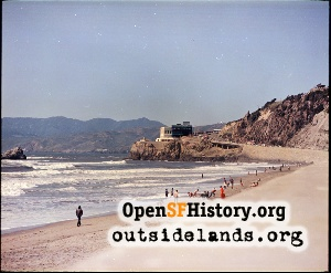 View N from Ocean Beach,1973