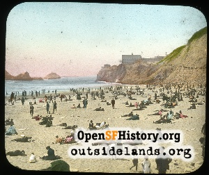 Cliff House Beach,1910