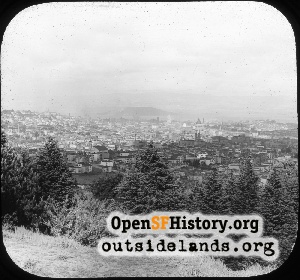 View from Buena Vista Park,1905