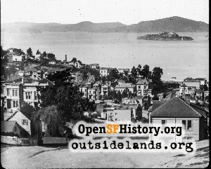 View N from Russian Hill,1900