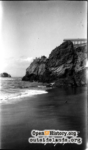Rocks below Cliff House,1924