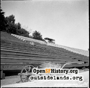 Kezar Stadium Construction,1924