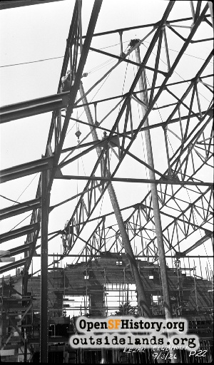 Kezar Pavilion Construction