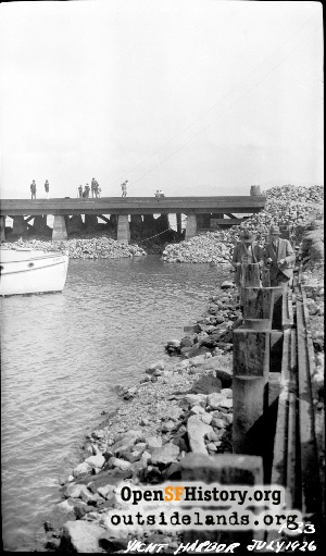 Marina Yacht Harbor Construction,Jul 1926