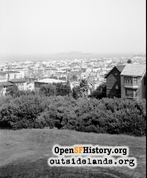 View from the Presidio,1940