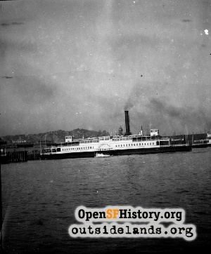 Ferry Boat at Ferry Building,n.d.