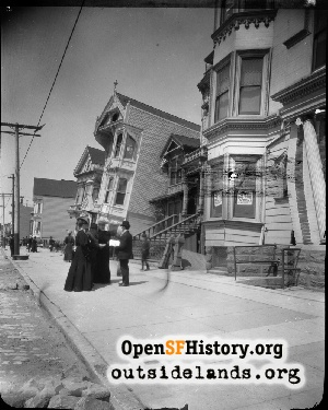 South Van Ness near 17th,1906