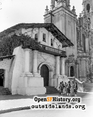 Mission Dolores,1950