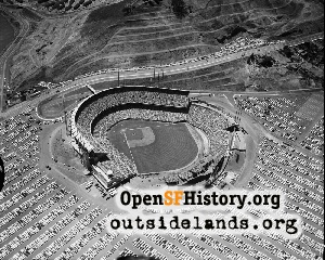 Candlestick Park Aerial,1961