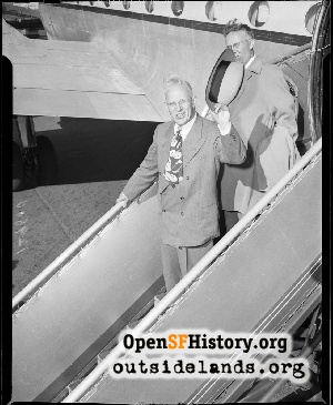 Earl Warren Visit,Dec 1961