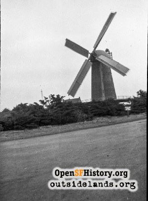 Dutch Windmill,1910s