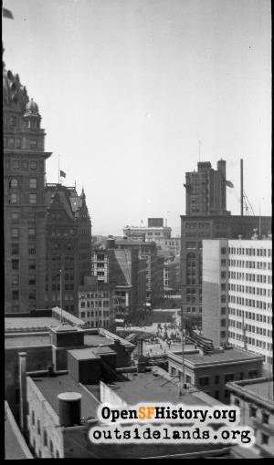 View N from Mission & 3rd,1910