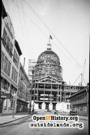 City Hall Construction,Jun 1914
