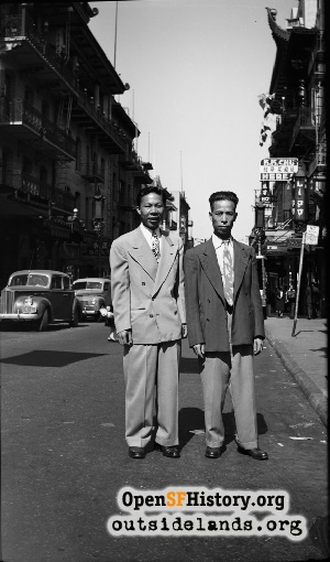 Men in Chinatown,1940