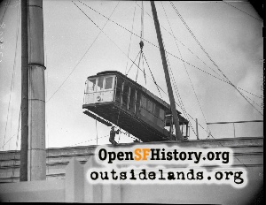 Cable Car on Emporium,1948