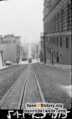 Sacramento Street Cable car line