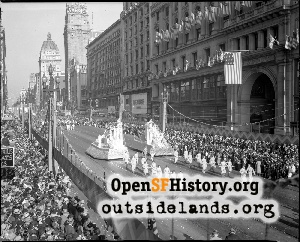 Market near Powell,1936
