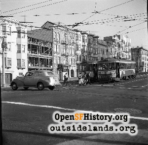 Van Ness & Union,1950
