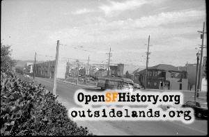 Great Highway & Judah,1970s