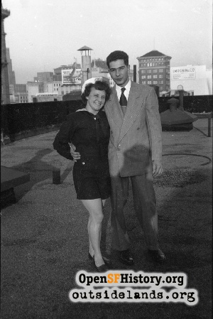 Union Square Rooftop,1950