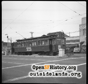 Mission St, Daly City,1949