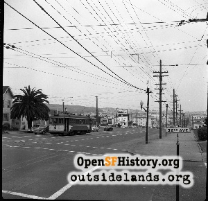 32nd & Geary,1952