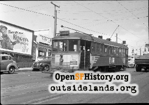 Taraval near 19th Ave,1950