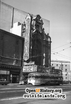 Fox Theatre,Feb 1961