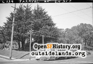 Taraval at 24th Ave,1947