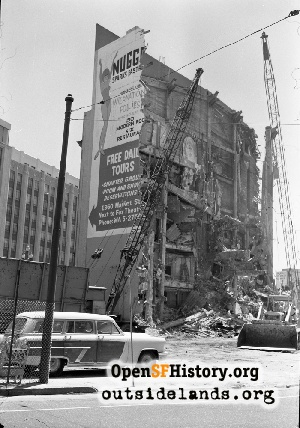Fox Theatre Demolition,1963