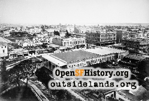 Downtown Oakland,1879