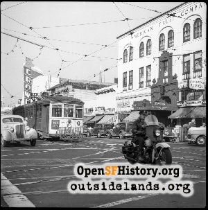 Mission & 22nd St,1948