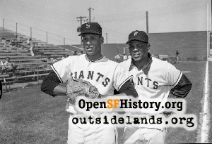 Orlando Cepeda & Willie Mays