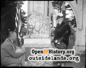Sutro Heights dedication,1940