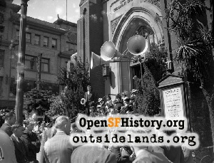 Old St. Mary's Church,1940