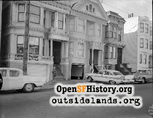 Sanchez near Duboce,1960