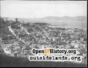 View from Telegraph Hill,1946