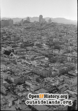 View from Coit Tower,1959