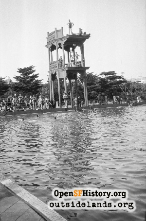 Fleishhacker Pool,1930