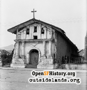 Mission Dolores,1900c