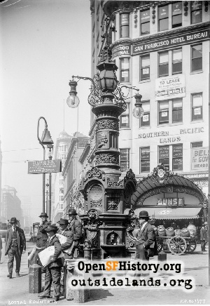 Lotta's Fountain,1914