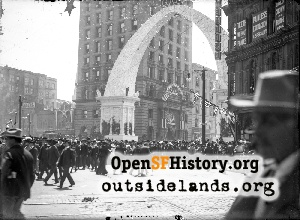 Kearny near Market,Aug 1903